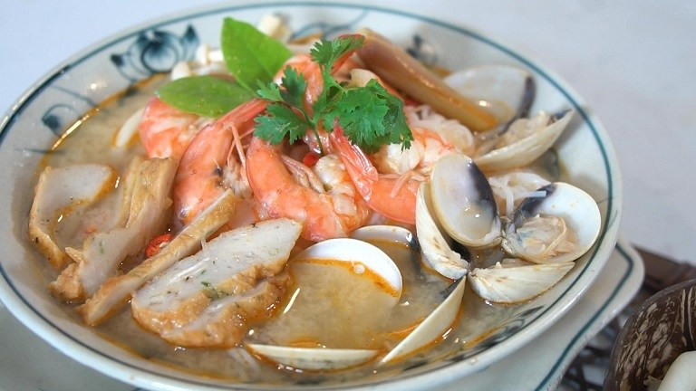 Súp hải sản kiểu Pháp