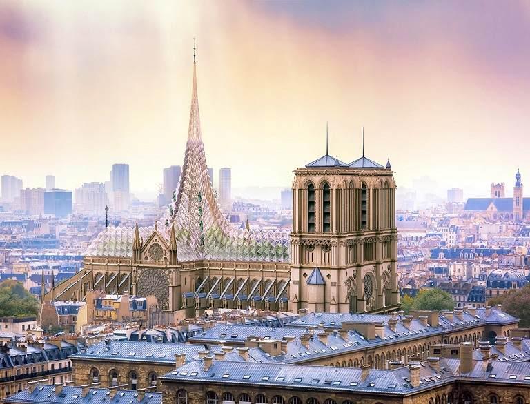Nhà thờ Đức bà Paris - Du lịch Paris