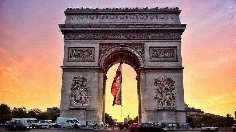 Khải hoàn môn - Du lịch Paris