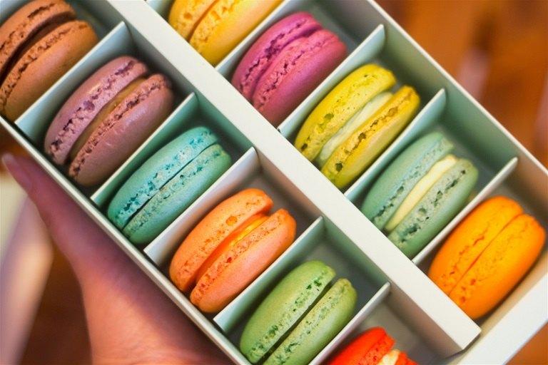 Bánh Macaron - món quà Pháp không thể không mang về