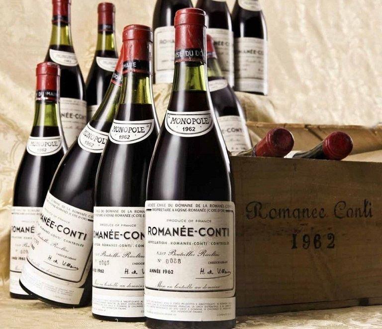 Rượu vang Pháp có hương vị rất thơm ngon