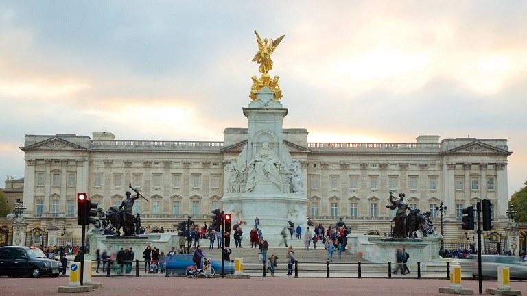 Điện Buckingham - Kinh nghiệm du lịch Anh