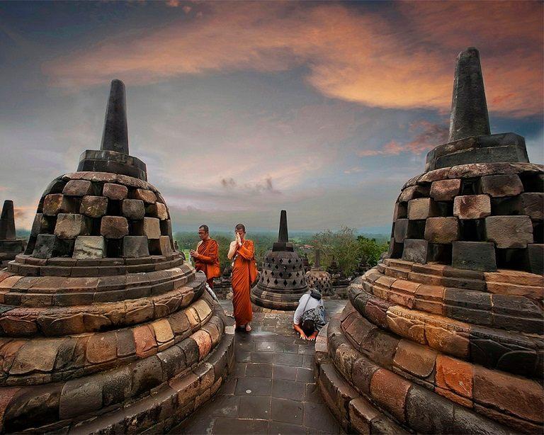 Kinh nghiệm du lịch Bali - Đền Borobudur