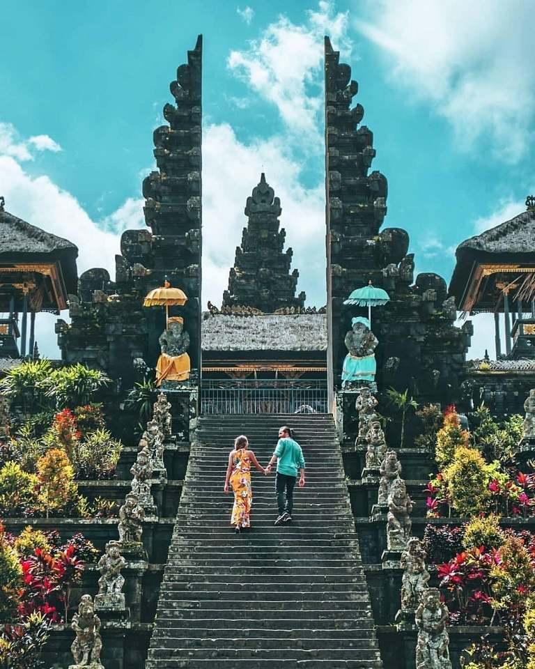 kinh nghiệm du lịch Bali - Đền Besakih