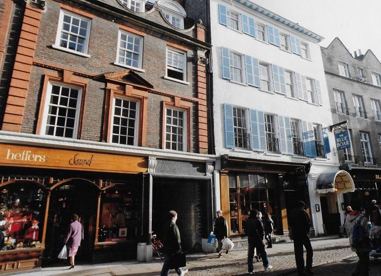 Những con phố mua sắm nổi tiếng ở Cambridge