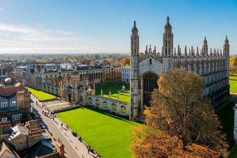 Cambridge - thành phố thơ mộng miền đông nước Anh