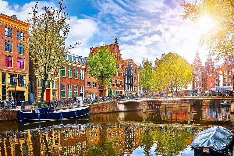 kinh nghiệm du lịch châu Âu - Amsterdam