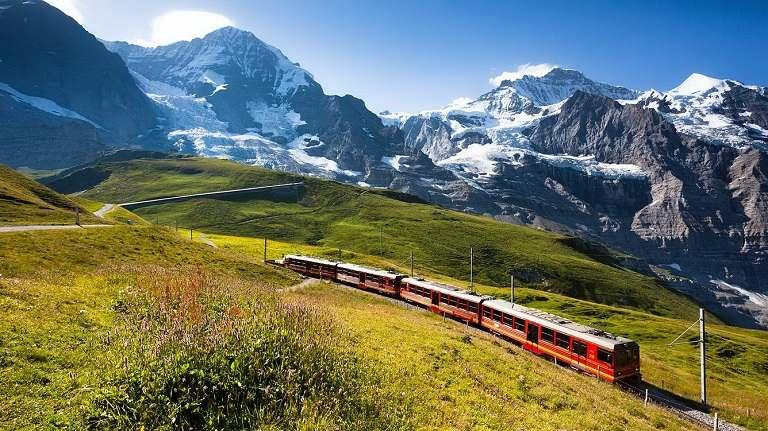kinh nghiệm du lịch châu Âu bằng Tàu hỏa