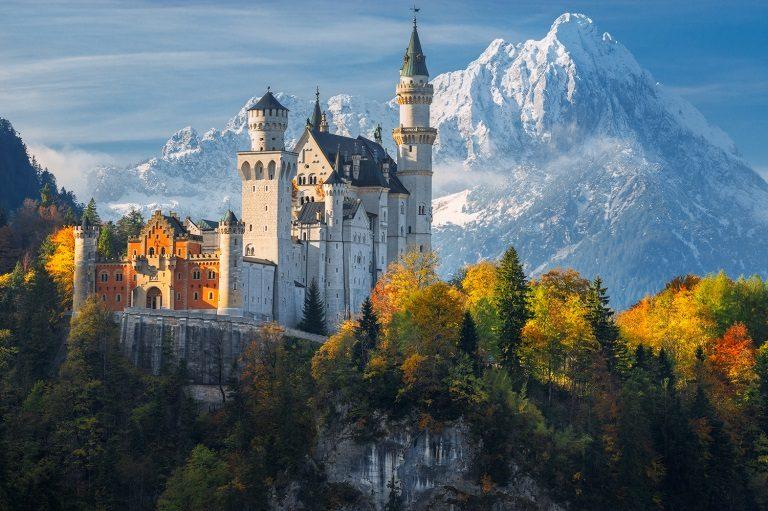 Kinh nghiệm du lịch Đức - Lâu đài Neuschwanstein