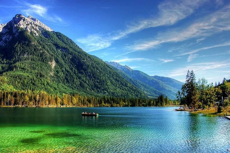 Kinh nghiệm du lịch Đức - Hồ Hintersee, Bavaria