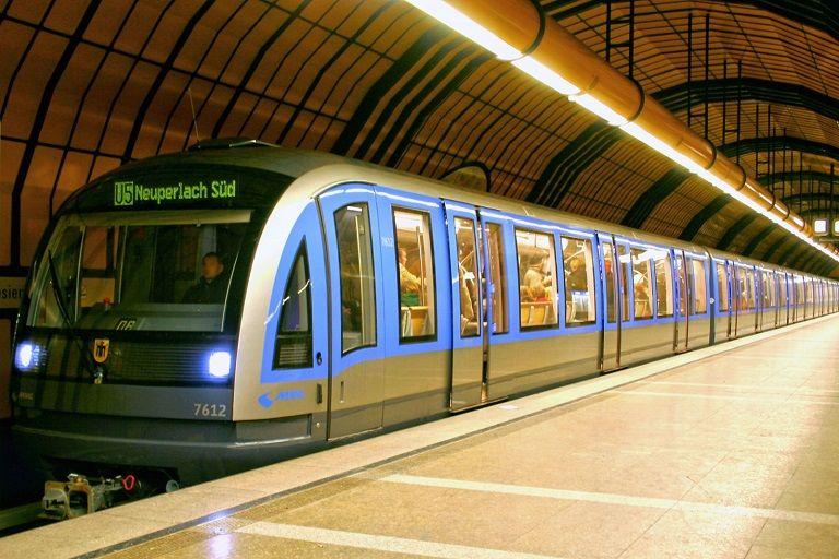 Tàu điện ngầm tại Đức