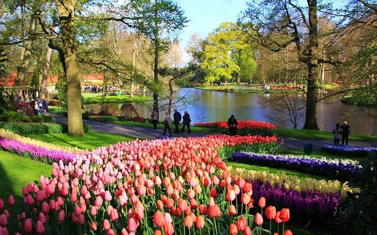 Mùa Xuân ở nước Đức