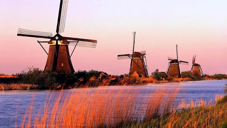 Hà Lan - Đất nước của những chiếc cối xay gió