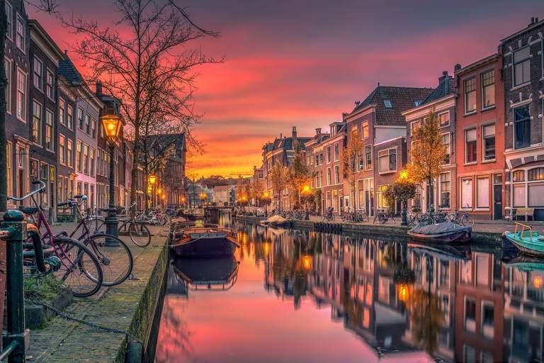 Thành phố Leiden lâu đời