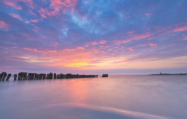 Kinh nghiệm du lịch Hà Lan - Hồ Ijsselmeer