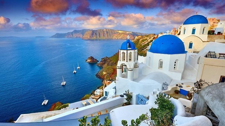 Kinh nghiệm du lịch Santorini - Làng Thira
