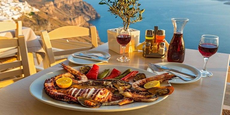 Bạch tuộc Santorini