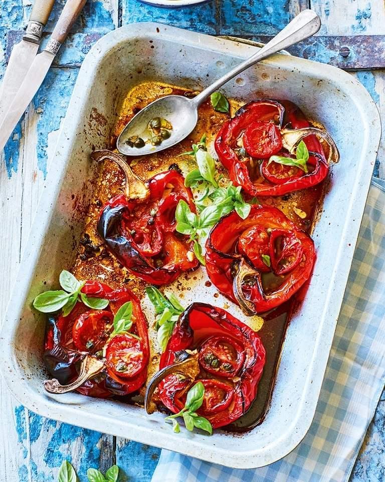 Tomato Gefthedes - Bánh cà chua chiên