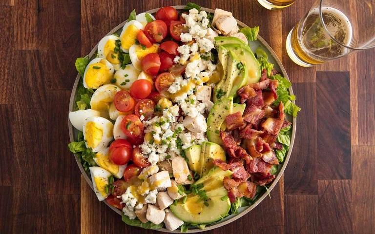 Salad sữa chua đậu nành