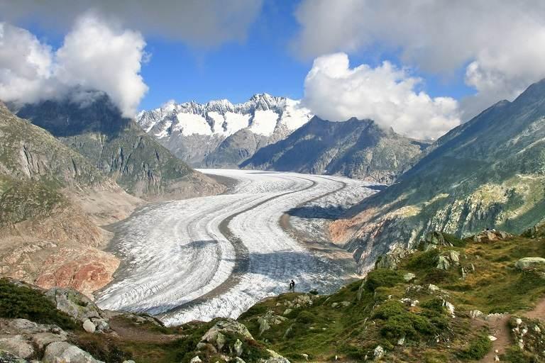 Dòng sông băng Aletsch trứ danh