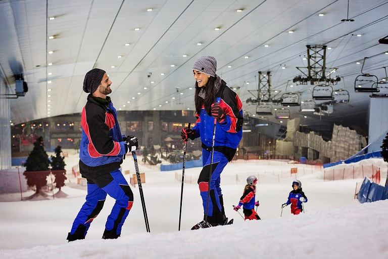 Ski Dubai (Ảnh sưu tầm)