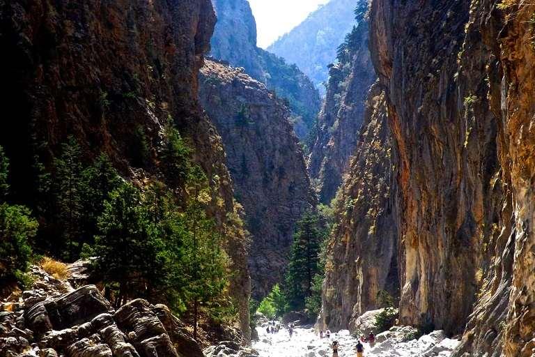 Hẻm núi Samaria - địa điểm du lịch tại Hy Lạp