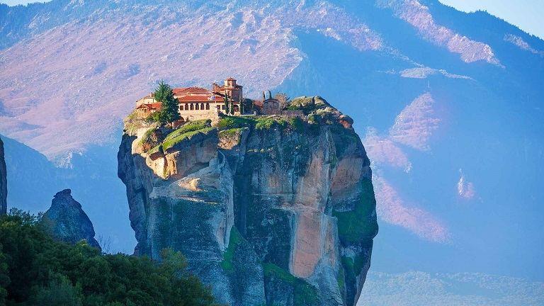 Tu viện Meteora - địa điểm du lịch tại Hy Lạp