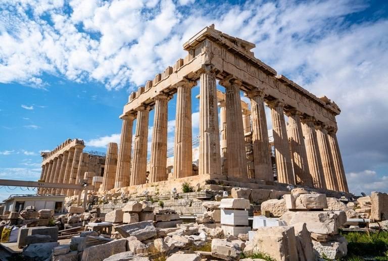 Đền thờ thần Zeus -địa điểm du lịch tại Hy Lạp