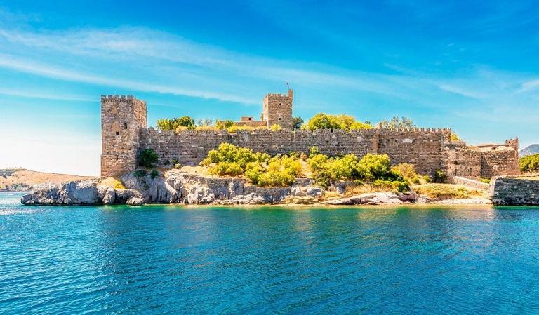 Lâu đài Bodrum - Địa điểm du lịch Thổ Nhĩ Kỳ