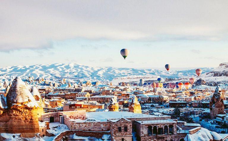 Cappadocia - Địa điểm du lịch Thổ Nhĩ Kỳ