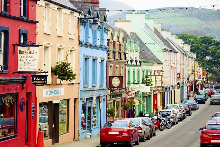 Đất nước Ireland một nơi tuyệt vời để cảm nhận thiên nhiên, đất nước, con người