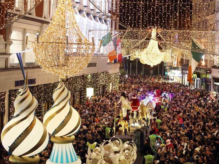 Kinh nghiệm du lịch Ireland - Khu phố Grafton mùa giáng sinh