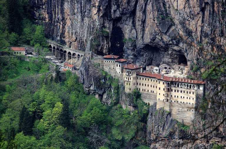 Kinh nghiệm du lịch Thổ Nhĩ Kỳ - Tu viện Sumela