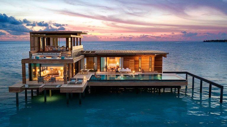 những resort đẹp nhất Maldives