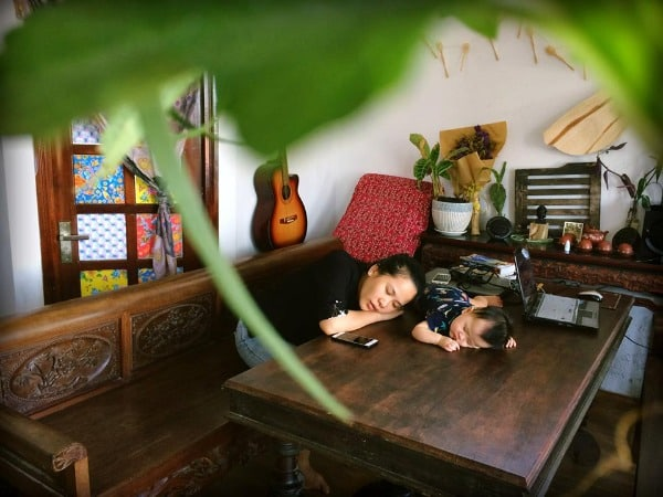 homestay ven sông Thu Bồn 2