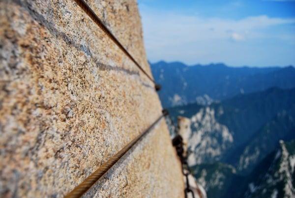 leo núi Hoa Sơn 2