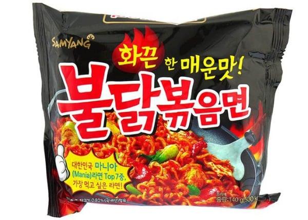 mì cay SamYang Hàn Quốc 2