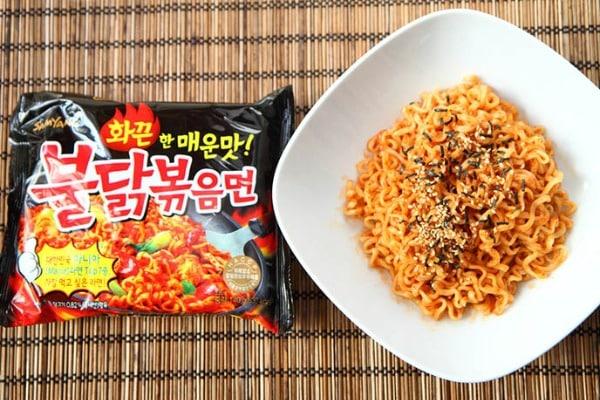 mì cay SamYang Hàn Quốc 4