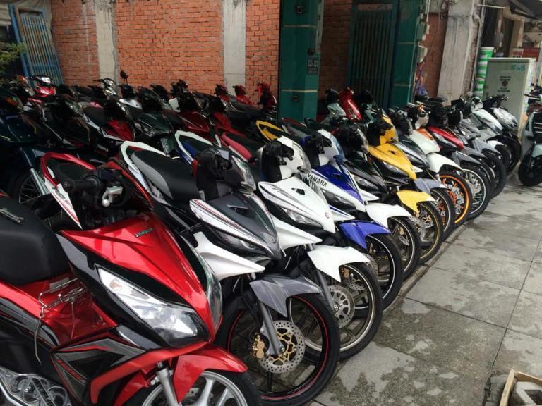 Thuê xe máy Đà nẵng 3